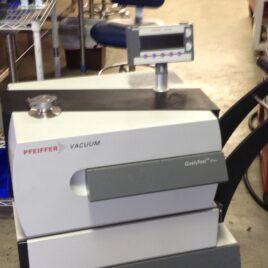 Pfieffer Vacuum Qualytest Dry Helium Leak Detector